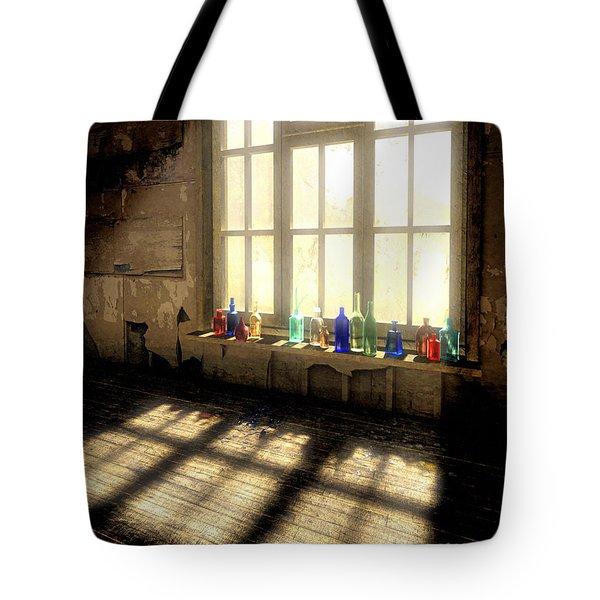 Sun Patch Tote Bag by Cynthia Decker
