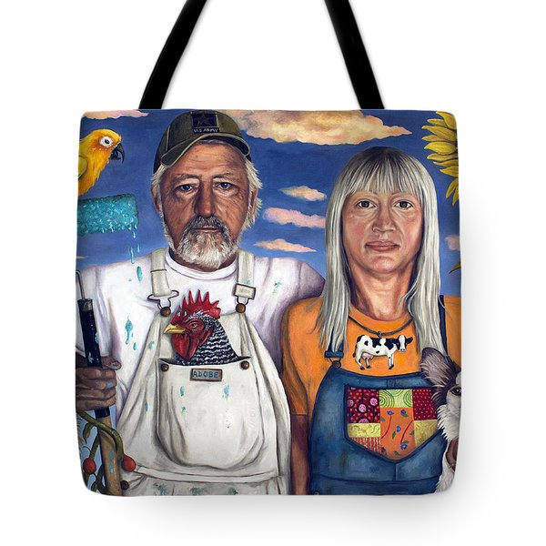 Sunday Morning Tote Bag by Leah Saulnier The Painting Maniac