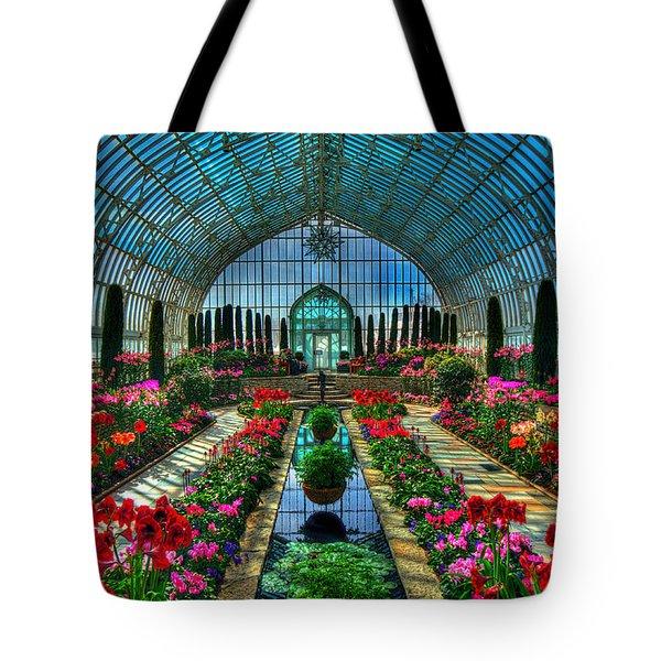 Sunken Garden Como Conservatory Tote Bag