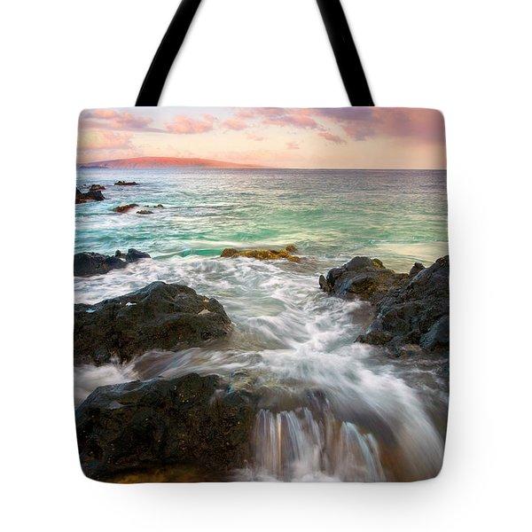 Sunrise Surge Tote Bag