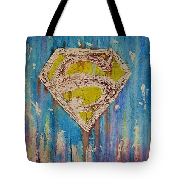 Superman's Shield Tote Bag