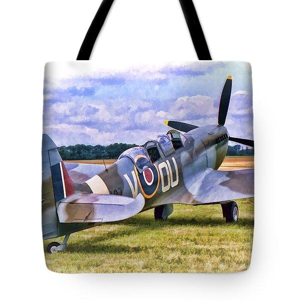 Supermarine Spitfire T9 Tote Bag