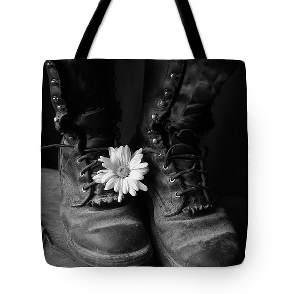 Sweat And Fire Worn Tote Bag