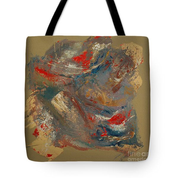 Tote Bag featuring the painting Syncopation 2 by Mini Arora