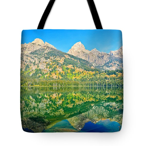 Taggart Lake Tote Bag by Greg Norrell