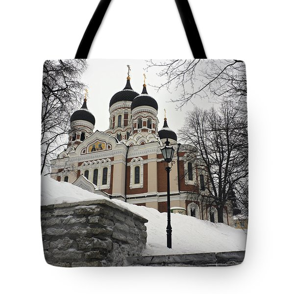 Tallinn Estonia Tote Bag