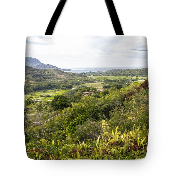 Taro Fields Tote Bag by Suzanne Luft