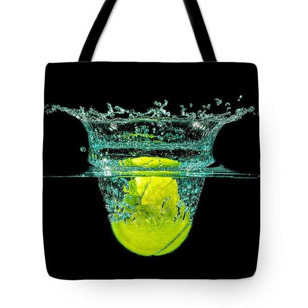 Tennis Ball Tote Bag by Peter Lakomy