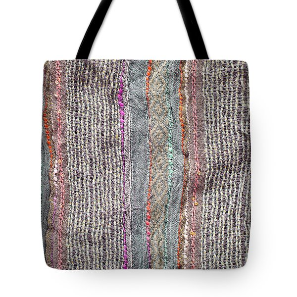 Textile Background Tote Bag by Tom Gowanlock