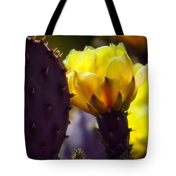 That Golden Glow  Tote Bag by Saija  Lehtonen