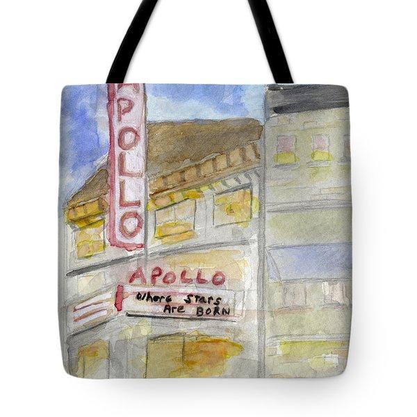 The Apollo Theatre Tote Bag