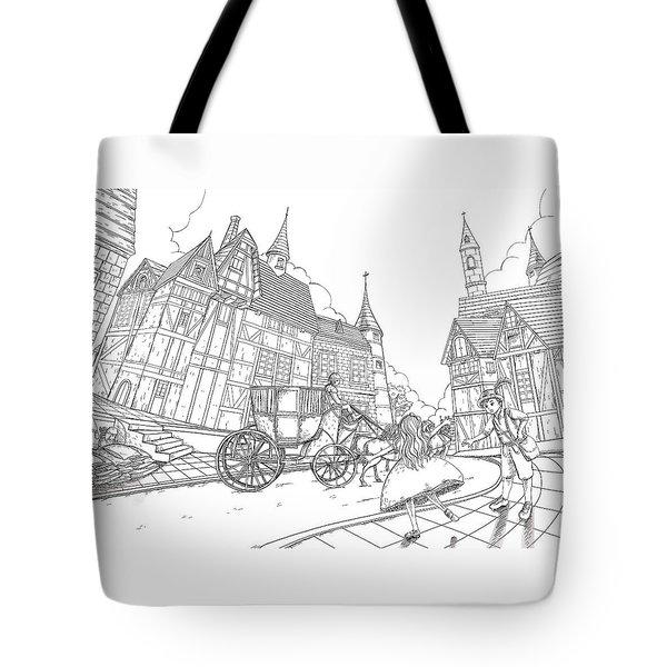 The Bavarian Village Tote Bag