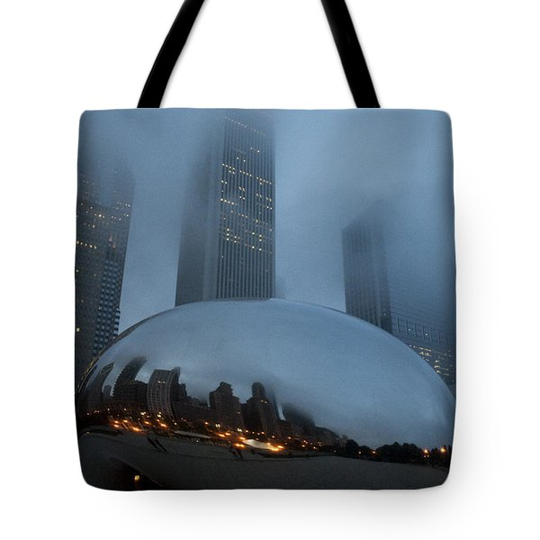 The Bean And Fog Tote Bag
