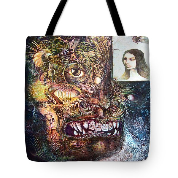 The Beast Of Babylon Tote Bag