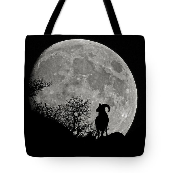 The Big Horn Tote Bag