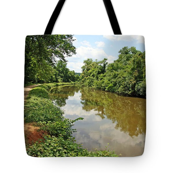 The Chesapeake And Ohio Canal Tote Bag by Cora Wandel