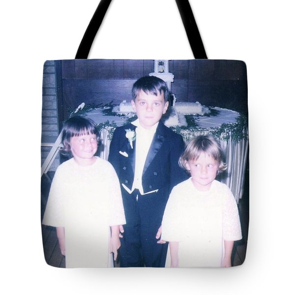 Tote Bag featuring the photograph The Cousin Crush by Kelly Awad