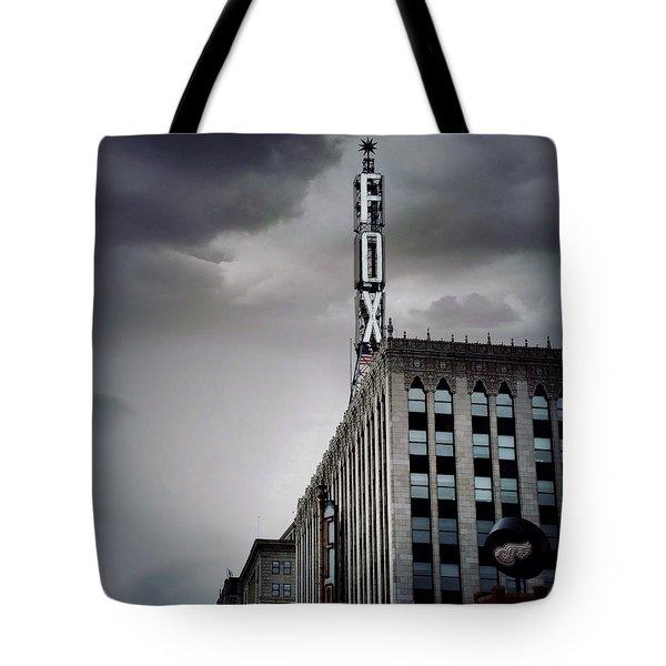 The Detroit Fox Tote Bag