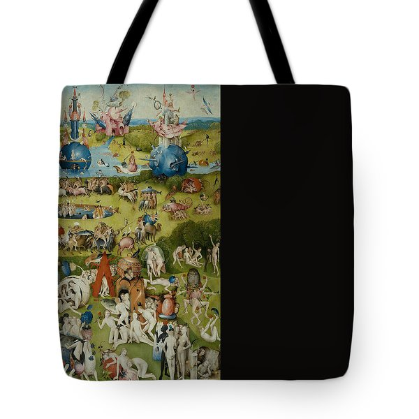 Tote Bag featuring the painting The Garden Of Earthly Delights by Hieronymus Bosch