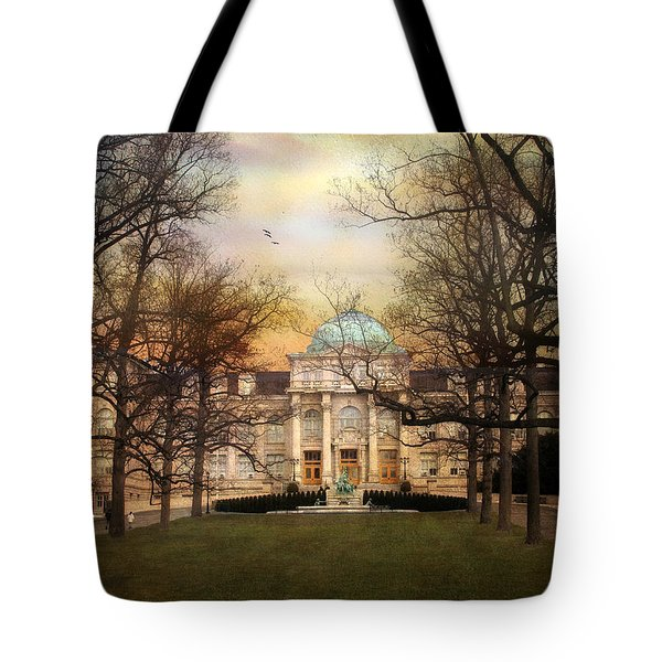 The Library Tote Bag by Jessica Jenney