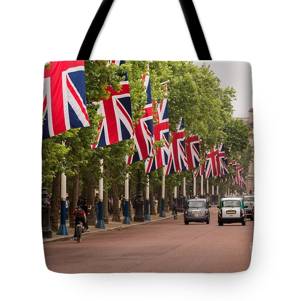 The Mall Tote Bag by Matt Malloy