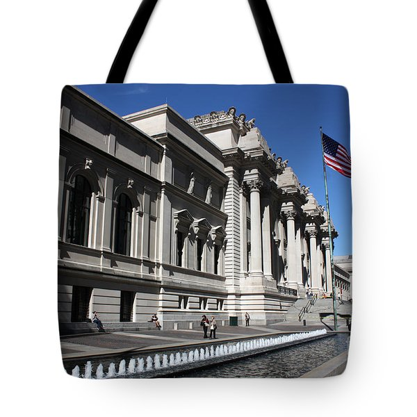 The Met Tote Bag by David Bearden