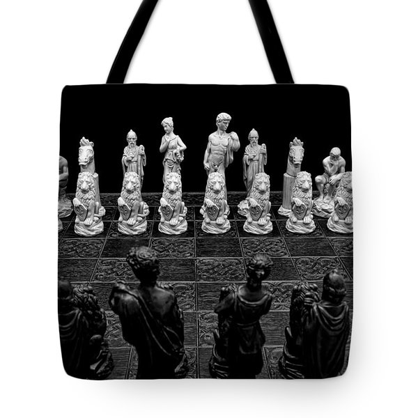 The Opponents View Tote Bag