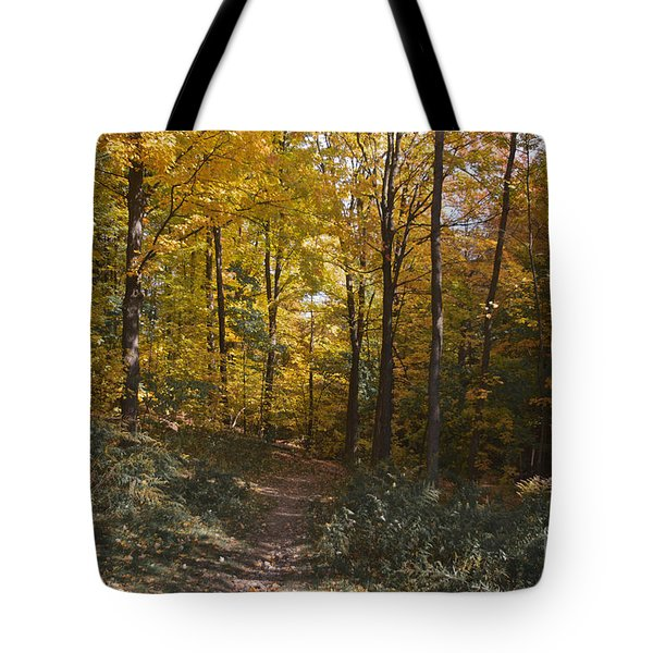 Tote Bag featuring the photograph The Path by William Norton
