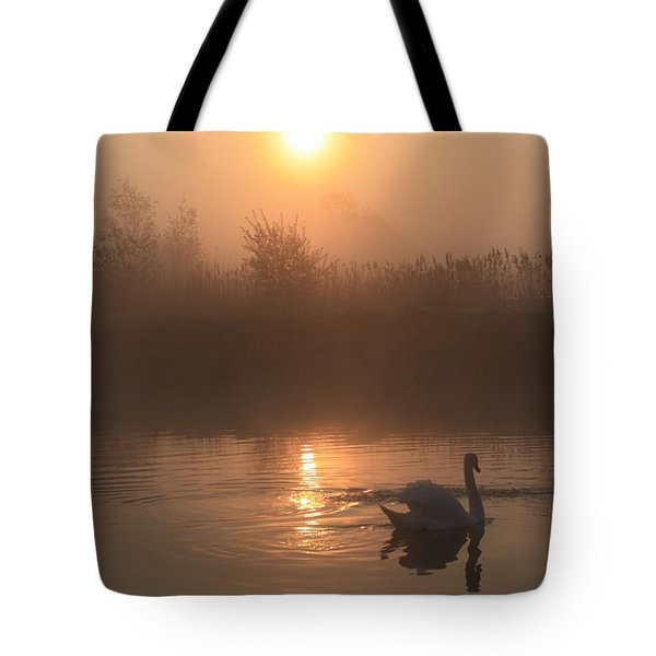 The Peace Of Dawn Tote Bag by Linsey Williams