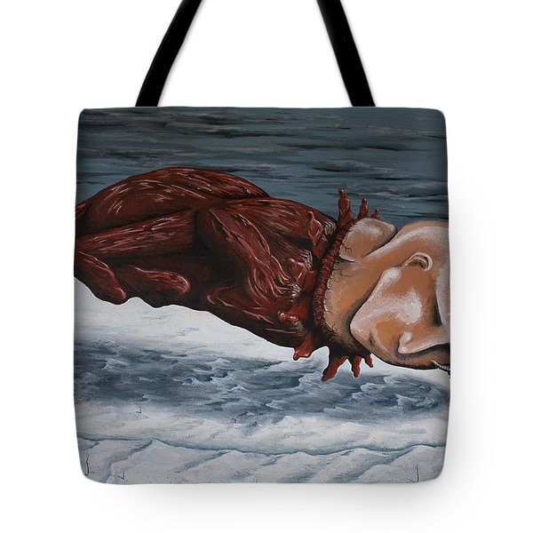 The Rut Tote Bag by Matthew Blum