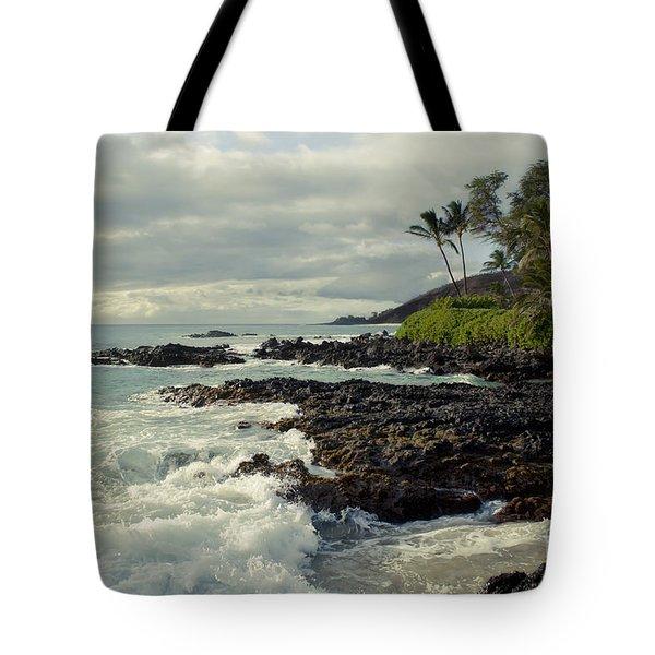 The Sea Tote Bag by Sharon Mau