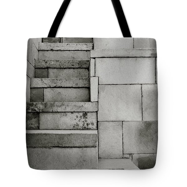 The Stairway Tote Bag by Shaun Higson
