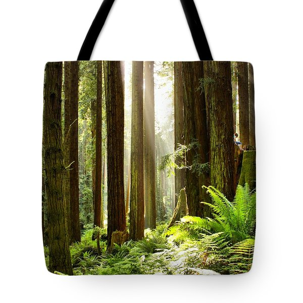 The Thinking Tree Tote Bag