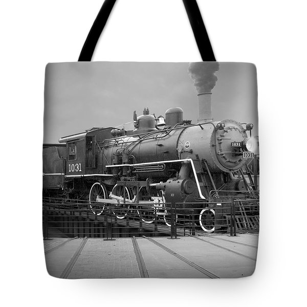 The Turntable Tote Bag by Mike McGlothlen