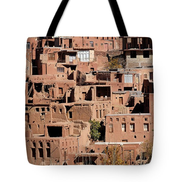 The Village Of Abyaneh In Iran Tote Bag by Robert Preston