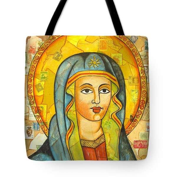 The Virgin Tote Bag by Joseph Sonday