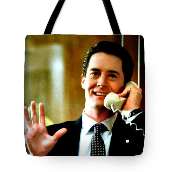 Tote Bag featuring the painting They Got A Cherry Pie There That'd Kill Ya by Luis Ludzska