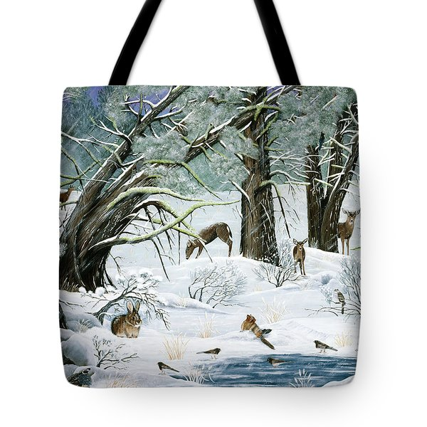 They Said It Wouldn't Snow Tote Bag