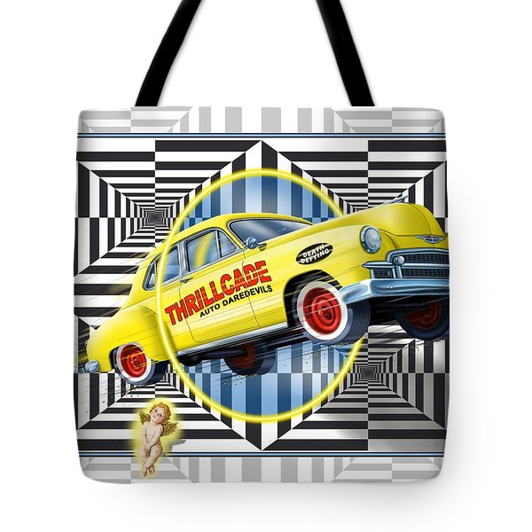 Thrillcade Tote Bag by Scott Ross
