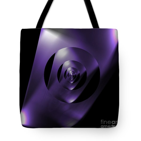 Through The Looking Glass Tote Bag by Luther Fine Art