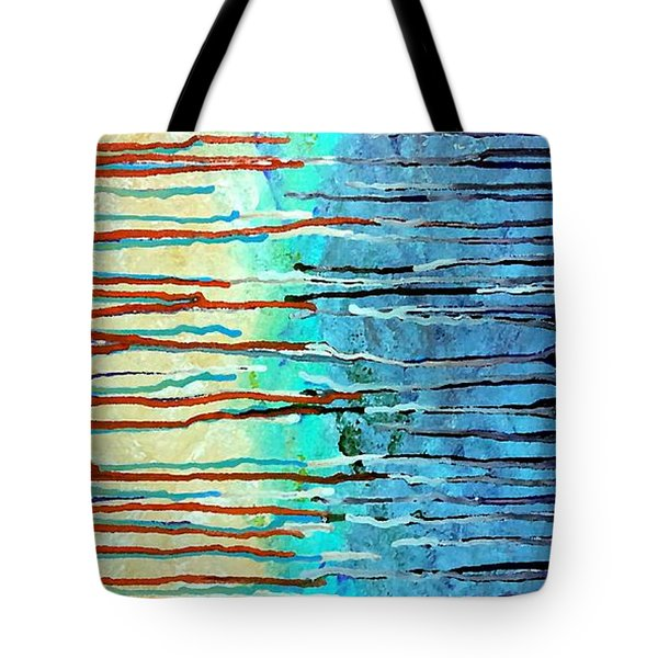 Thru The Storm 7 Tote Bag by Lady Ex