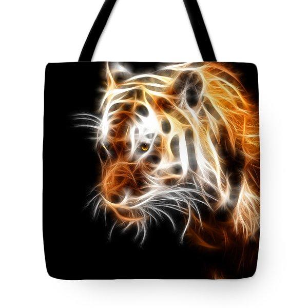 Tiger  Tote Bag by Mark Ashkenazi
