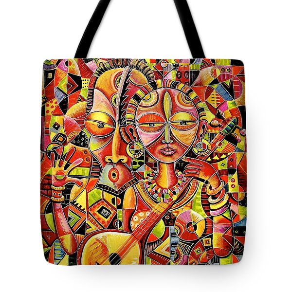 Together In Love Tote Bag