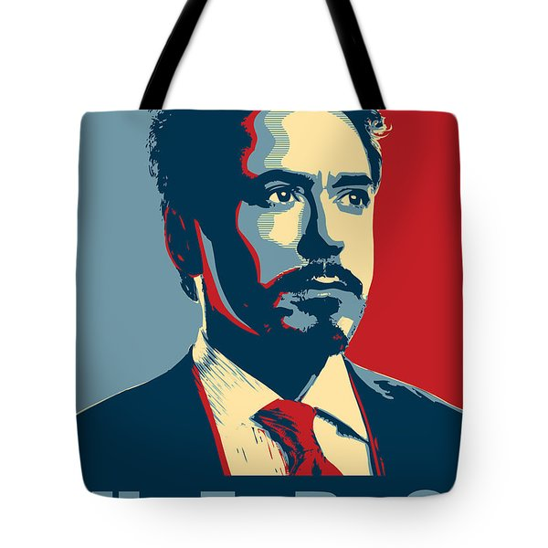 Tony Stark Tote Bag