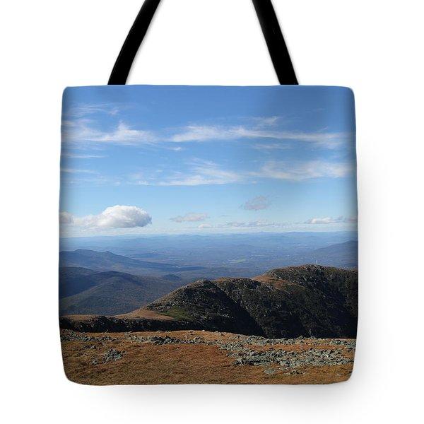 Top  Mt Washington  Tote Bag
