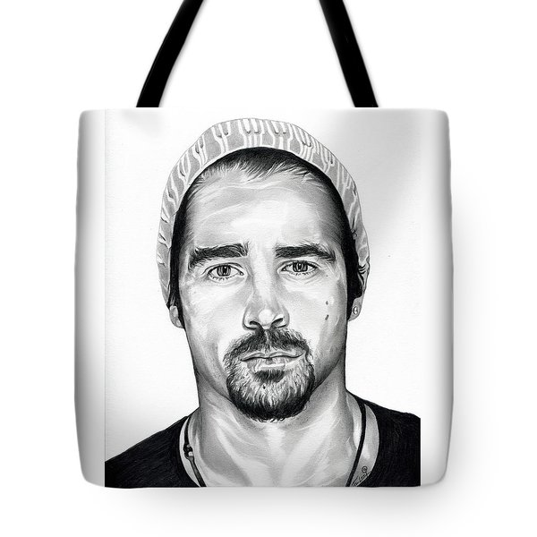 Total Recall  Colin Farrell Tote Bag