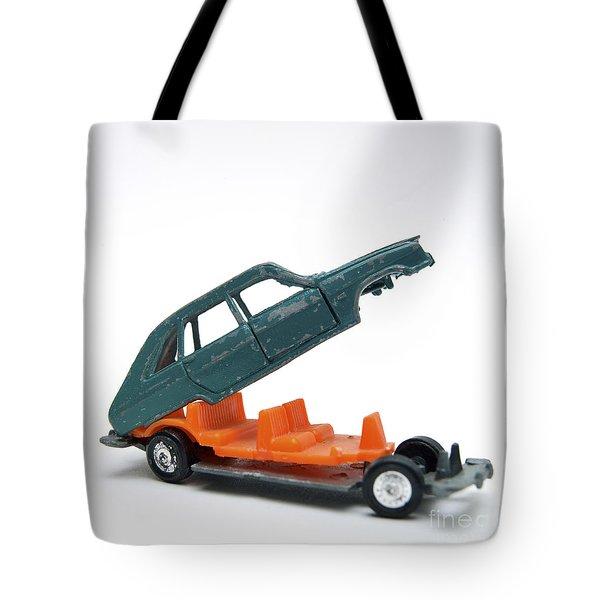 Toy Car Tote Bag