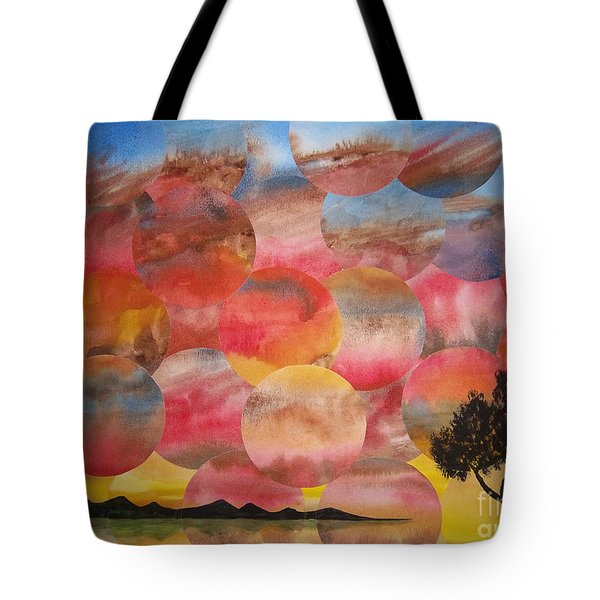 Tranquility With Tree Tote Bag by Jeni Bate