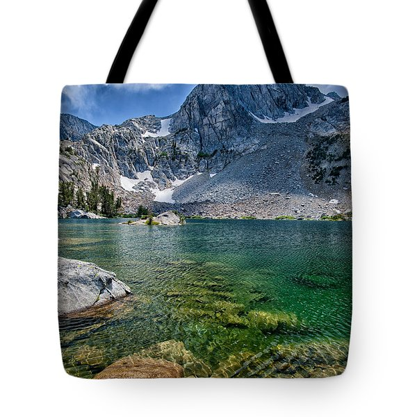 Treasure Lakes Tote Bag by Cat Connor