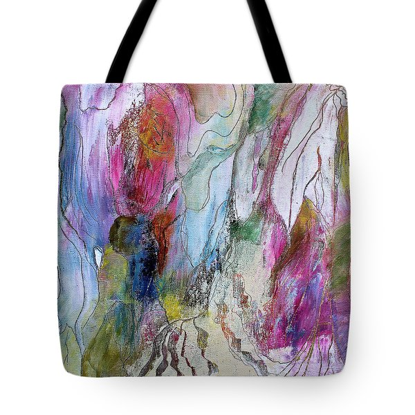 Under The Ice Of Venus Tote Bag